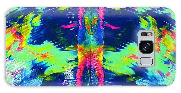 Angel Wings Galaxy Case
