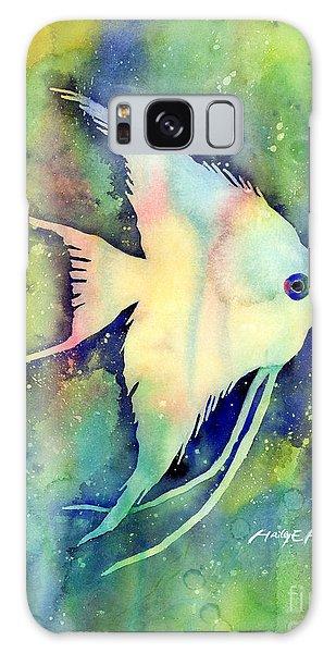 Fish Galaxy S8 Case - Angelfish I by Hailey E Herrera