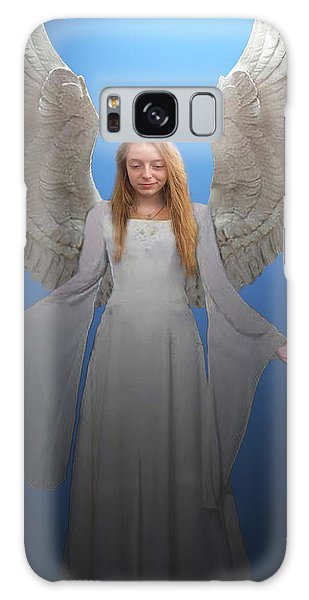 Angelic Angel Galaxy Case
