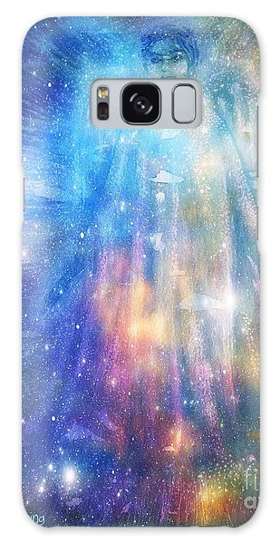 Angelic Being Galaxy Case