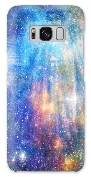 Angelic Being Galaxy Case by Leanne Seymour