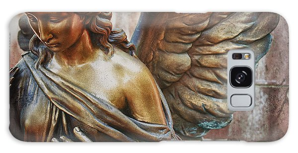 Angelic Contemplation Galaxy Case