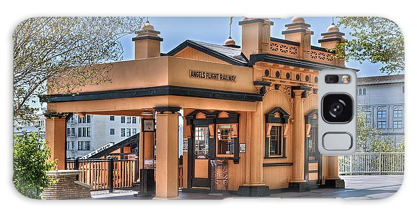 Angels Flight Landmark Funicular Railway Bunker Hill Galaxy Case