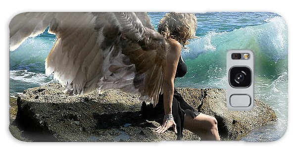 Angels- I'm Watching Over You Galaxy Case