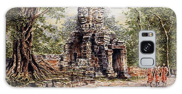 Angkor Temple Gate Galaxy Case by Joey Agbayani