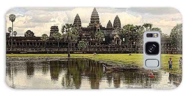 Angkor Wat I Galaxy Case by Chuck Kuhn