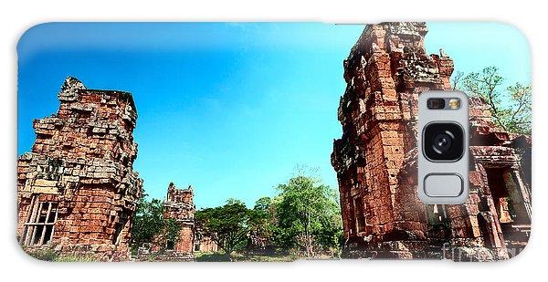 Angkor Wat Ruins Galaxy Case