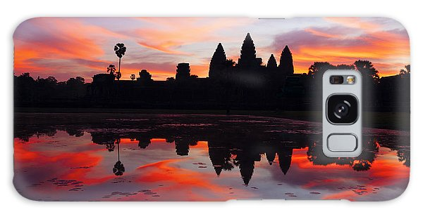 Angkor Wat Sunrise Galaxy Case