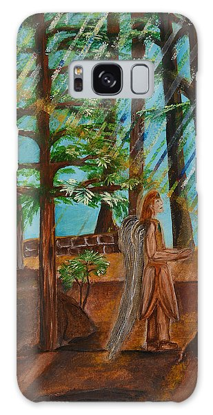 Angle In Idyllwild Galaxy Case by Cassie Sears