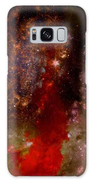 Angry Heavens Galaxy Case