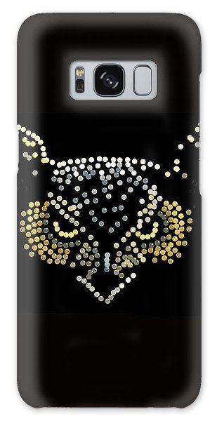 Angry Owl Bedazzled Mobile Galaxy Case