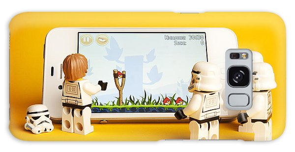 Storming Galaxy Case - Angry Birds Storm Troopers by Samuel Whitton