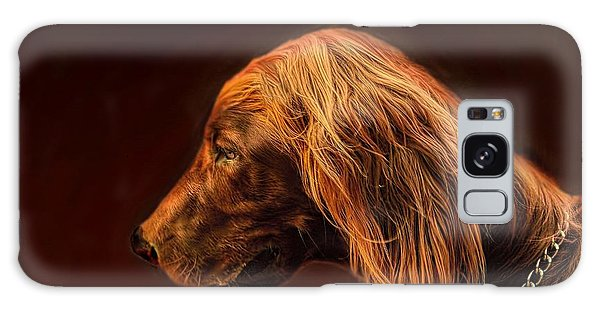 Angus Irish Red Setter Galaxy Case by Wallaroo Images