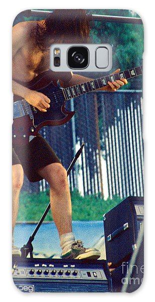 Angus Young Of A C D C At Day On The Green Monsters Of Rock Galaxy Case