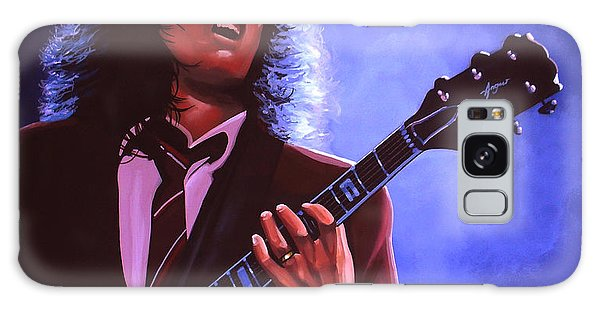 Cd Galaxy Case - Angus Young Of Ac / Dc by Paul Meijering