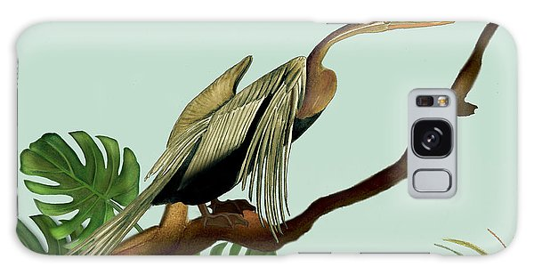 Anhinga Bird Galaxy Case