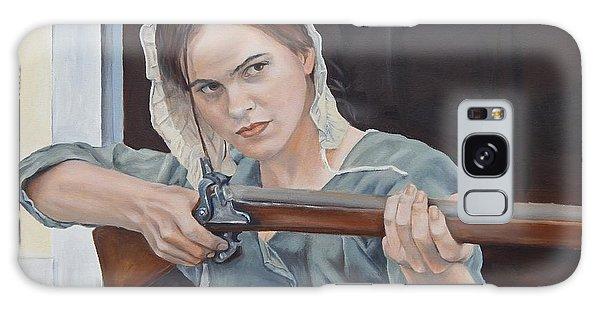 Galaxy Case - Ani Get Your Gun by Anne Kushnick