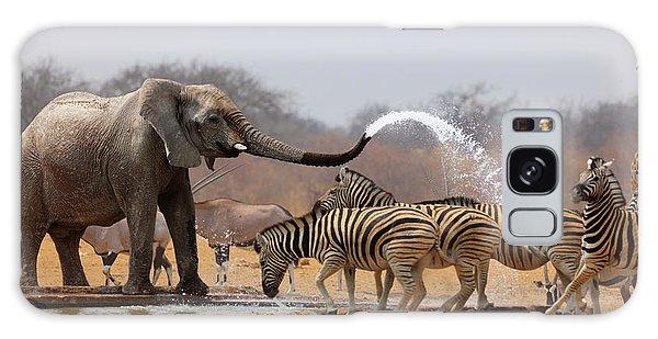Funny Galaxy Case - Animal Humour by Johan Swanepoel