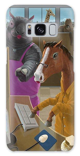 Animal Office Galaxy Case