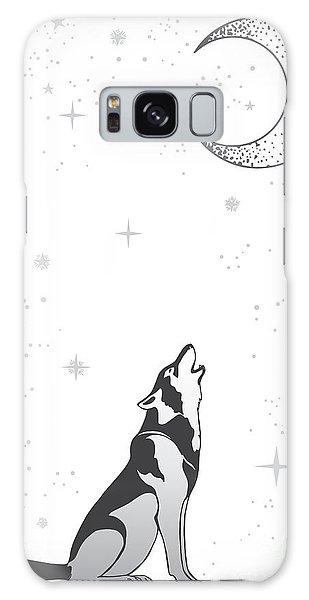 Indian Head Galaxy Case - Animal Print For Adult Anti Stress by Anastasia Mazeina