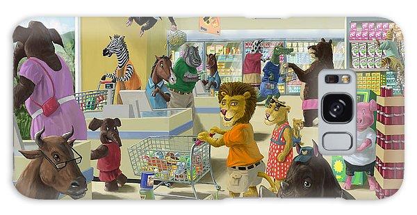 Animal Supermarket Galaxy Case