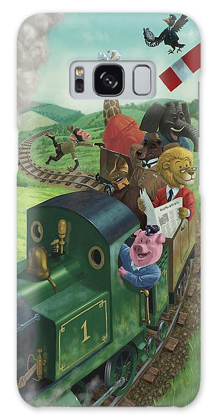 Animal Train Journey Galaxy Case