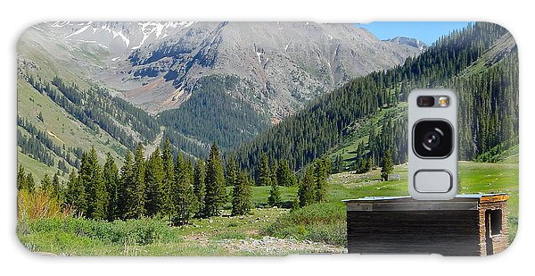 Animas Forks Jail Galaxy Case