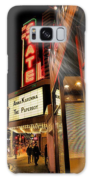 State Theater Marquee Galaxy Case by Pat Cook