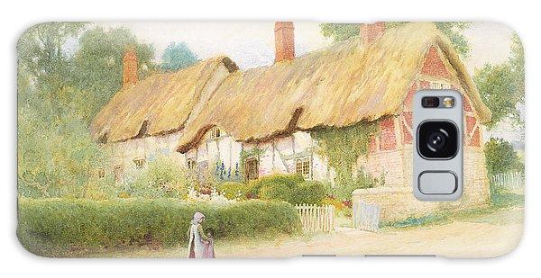 Framing Galaxy Case - Ann Hathaway's Cottage by Arthur Claude Strachan