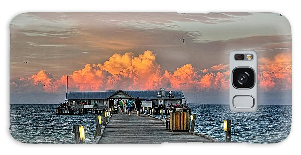 Anna Maria City Pier Galaxy Case by HH Photography of Florida