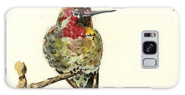 Hummingbird Galaxy S8 Case - Anna S Hummingbird by Juan  Bosco