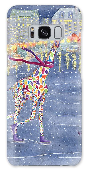 Skylines Galaxy S8 Case - Annabelle On Ice by Rhonda Leonard