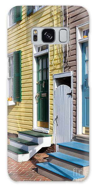 Annapolis Historic Homes I Galaxy Case by Clarence Holmes