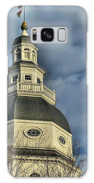Annapolis Statehouse Galaxy Case by Jennifer Wheatley Wolf