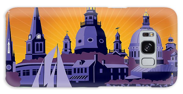 Annapolis Steeples And Cupolas Galaxy Case