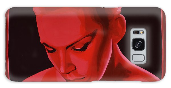 B B King Galaxy Case - Annie Lennox by Paul Meijering