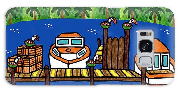 Annie's Dock - Cedar Key Galaxy Case
