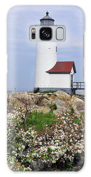Annisquam Harbor Light Station 2 Galaxy Case by Dan Myers