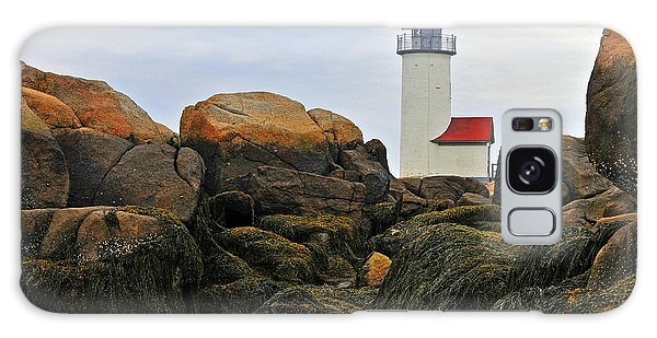 Annisquam Harbor Light Station Galaxy Case by Dan Myers