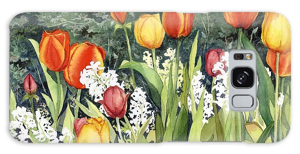 Ann's Tulips Galaxy Case
