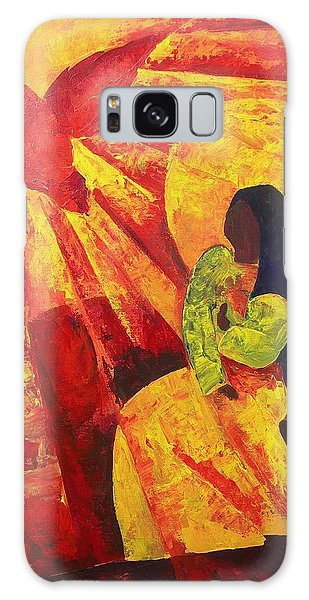 Annunciation Galaxy Case - Annunciation by Patricia Brintle