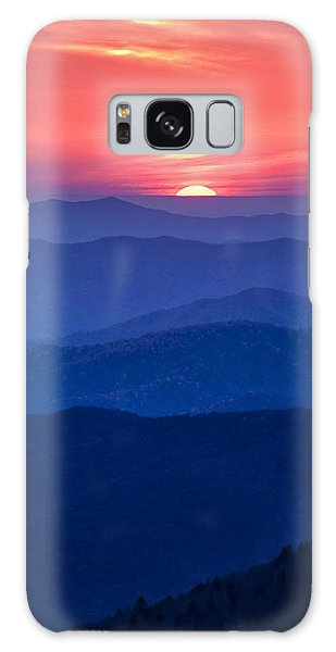 Another Day Ends Galaxy Case