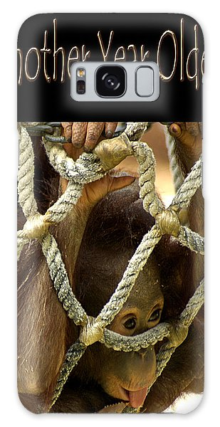 Galaxy Case featuring the photograph Another Year Older by Carolyn Marshall