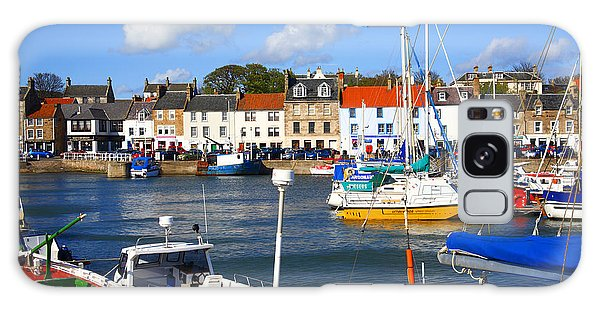Anstruther Harbour Galaxy Case