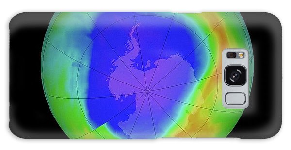 Earth From Space Galaxy Case - Antarctic Ozone Hole by Nasa/goddard Space Flight Center