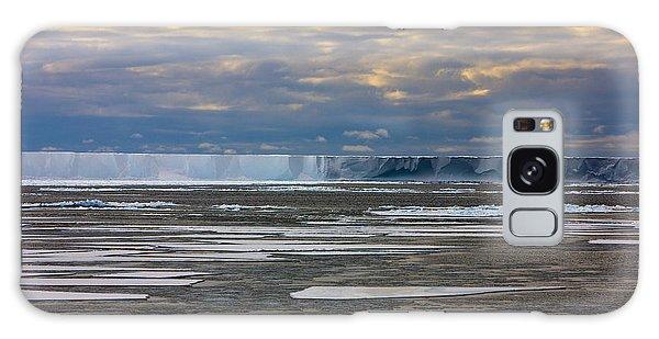 Antarctica Ross Ice Shelf Edge  Galaxy Case