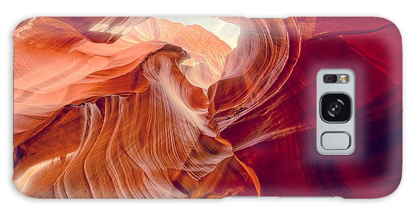 Antelope Canyon Navajo Nation Page Arizona Weeping Warrior Galaxy Case