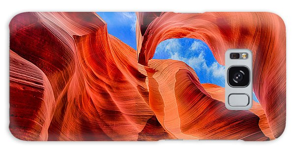 Antelope Canyon Walls Galaxy Case