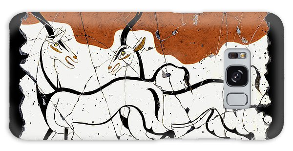 Antelope Of Akrotiri Galaxy Case