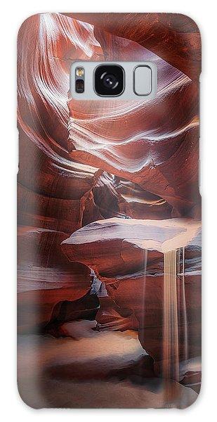 Usa Galaxy Case - Antelope Sandfall by Clara Gamito